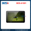 10.1 Tablet Rockchip3168, Cortex A9 Dual Core 1.2-1.5Ghz 1G RAM 8GB Flash 1024*600 Android 4.2 Full Format Tablet