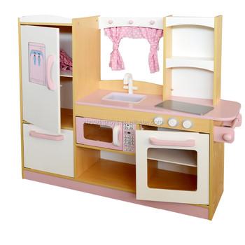 Gelb Holz Küche Set Spielzeug Für Kinder,Kinder Küche - Buy Kinder ...