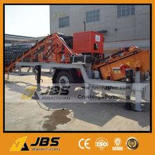 Plastic small library jaw stone crushing machines chole complete crushing plant made in China