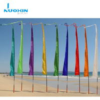 Outdoor large flying digital printing colorful bali feather flag