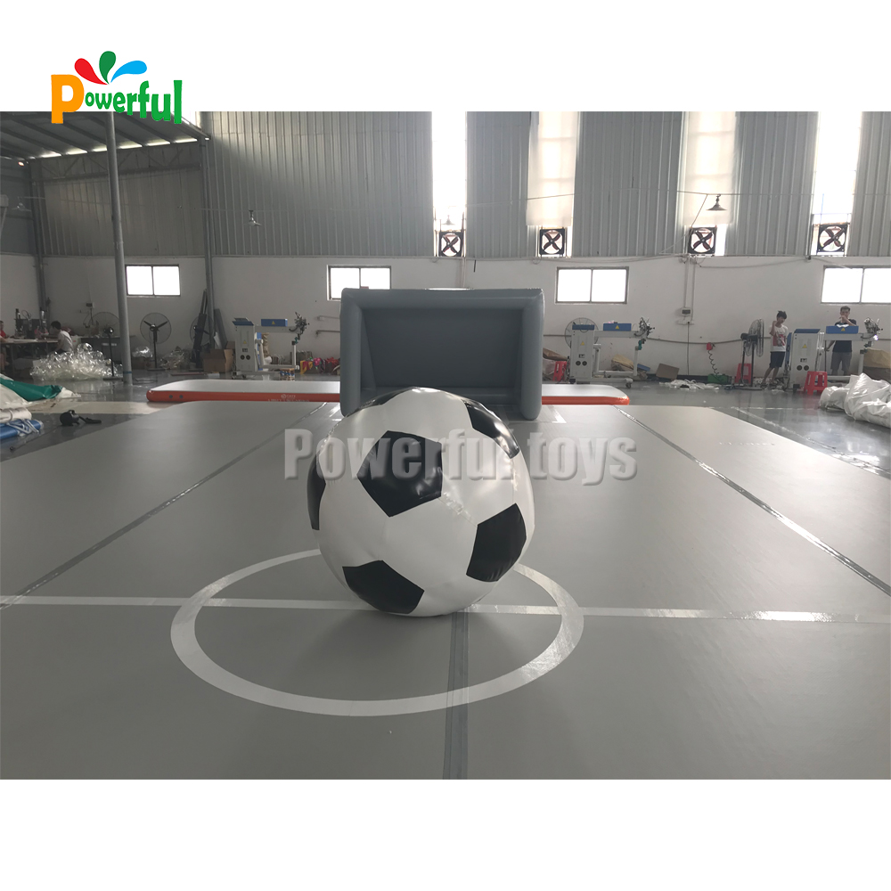 New Design Durable Inflatable Gymnastics Mat Air Track For Gym Soccer Bubble Game