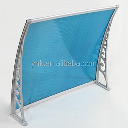polycarbonate roofing sheet door sunshade awning