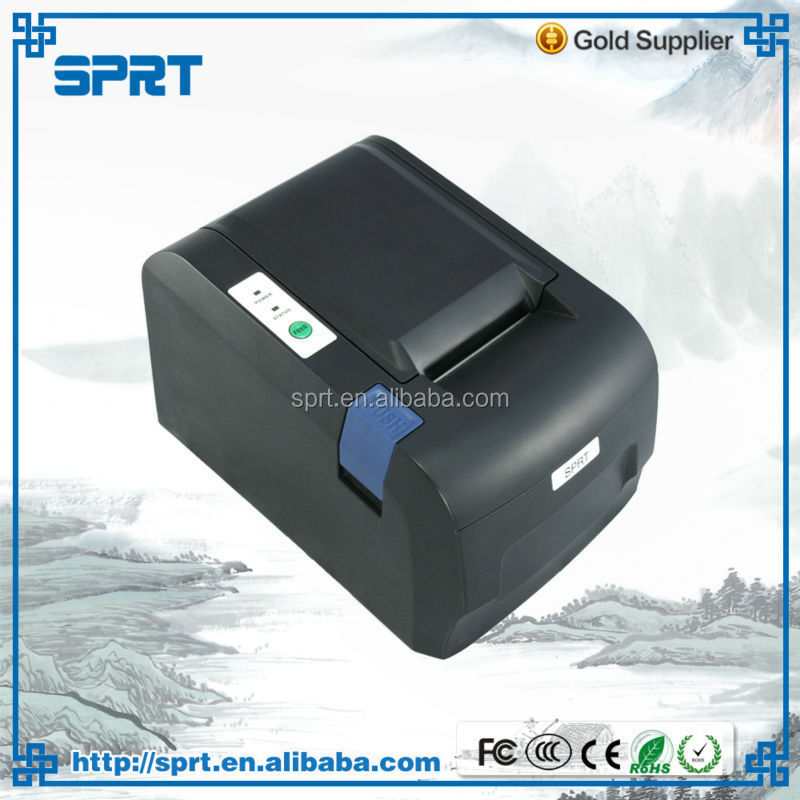 hotel receipt low price & reliable 58mm thermal slip Printer machine for restaurant