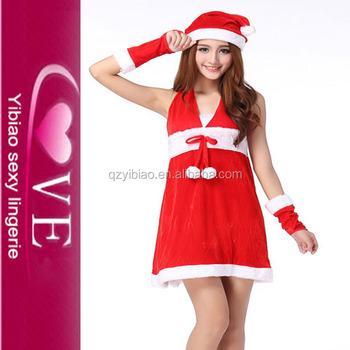 santa claus costume fantasy white christmas party costumes - White Christmas Costumes
