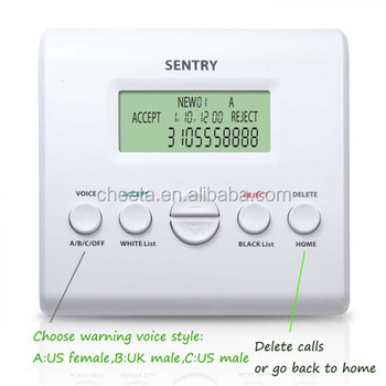 2017 new arrival uk sentry telephone call blocker
