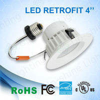 LED lighting UL cUL Energy Star qualified residential and commercial LED downlight 4 ' LED recessed trim with 5 years warranty