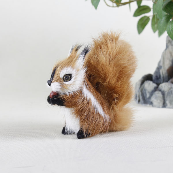 harvest easter decorations walking soft toy squirrel