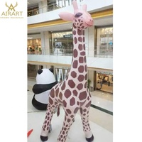 Inflatable advertising decoration event inflatable animals, giant inflatable giraffes