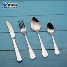 Household Tableware Hand Polish Stainless Steel Cutlery German Flatware Set