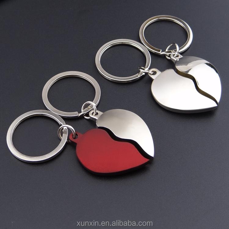 New Design New Fashion Metall Zusammenpassenden Herz Paar