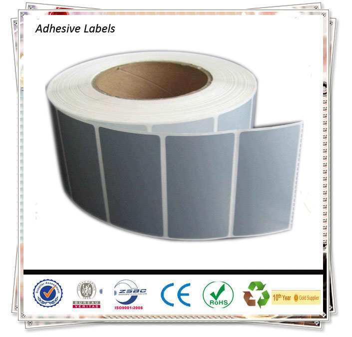 Printed Or Non Printed Strong Adhesive Label Sticker /Self Adhesive Aluminium Labels/Self Adhesive Vinyl Labels
