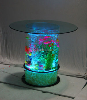 Dancing waterfall fountain aquarium led lighting buy for Aquarium waterfall decoration