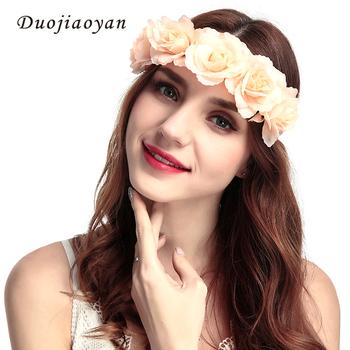 a835156383f47 Latest Design Bohemian Headband Women Hair Accessories Fashion Flower Hair  Band - Buy Flower Headband,Flower Girl Hair Bands,Red Flower Hair ...
