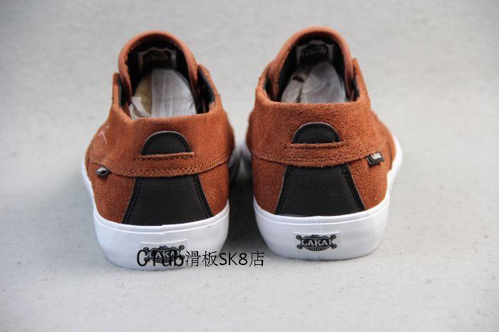 Новое поступление мужской обуви спортивные коричневые кроссовки Lakai CAMB MID сбалансированный скейт обувь