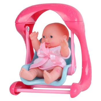 5 Inch Plastic Cheap Mini Baby Doll With Swing Buy 5 Inch Baby