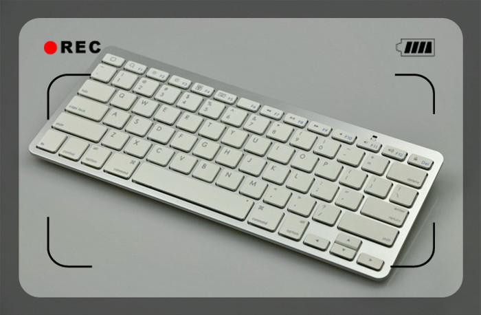 Laptop Ultra-thin Wireless Keyboard For Apple Iphone/ipad/samsung ...