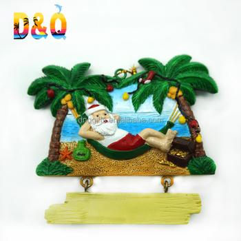 マイアミ卸売樹脂ビーチデザインクリスマスオーナメント buy マイアミ