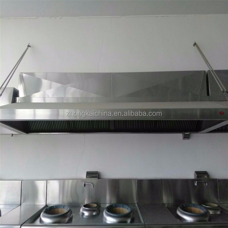 Zhongkai China Best Powerful Kitchen Exhaust Range Hood Commercial Kitchen Range Exhaust Vent Hood With Esp Filters With Good Qu Buy Commercial