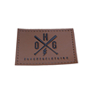 High quality jeans label patch garment custom leather tag