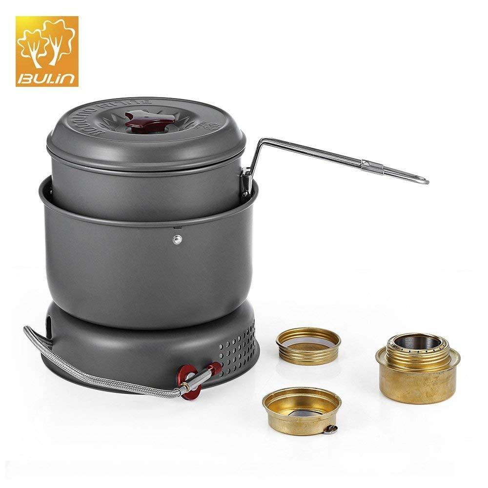 SZYT Outdoor windproof BL100-Q1 alcohol stove dual-use portable monocular burner stove split alcohol stove