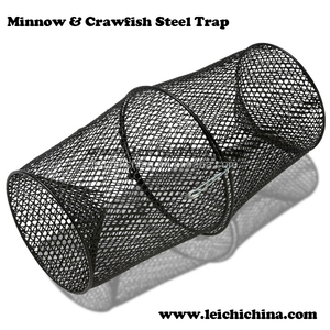 Chinesee folding fishing stainless steel wire crab/lobster/fish trap