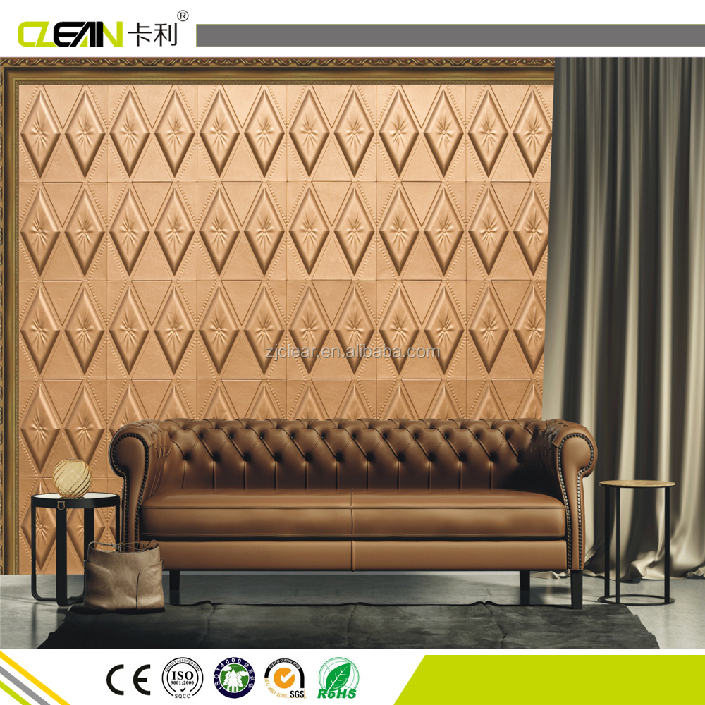 Leather 3d wall panel decoration wall panel wall ceiling leather 3d wall panel decoration wall panel wall ceiling decorative factory high quality amipublicfo Choice Image