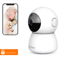 AVstart New 1080P Baby Monitor IP Camera For Home Security