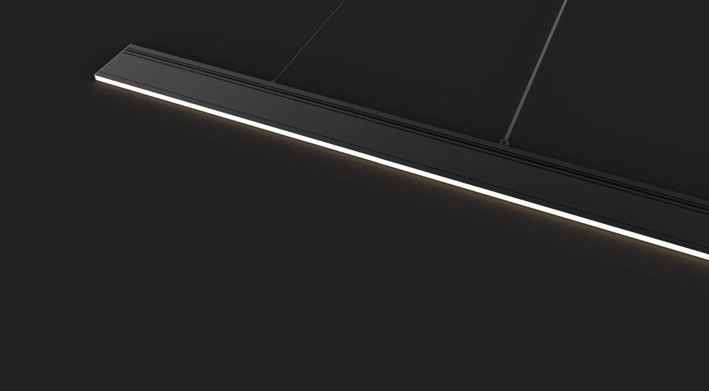 1200mm Led Hanging Office Pendant LightCommercial Linear Light