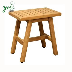 Astonishing Bamboo Wooden Spa Shower Bench Stool With Storage Shelf Seat Theyellowbook Wood Chair Design Ideas Theyellowbookinfo
