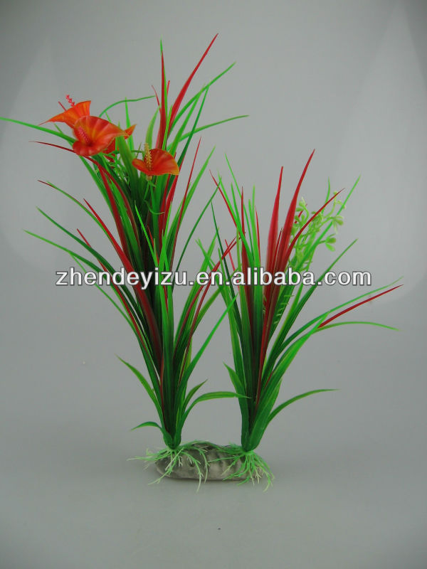 artificial pond fish high quality Aquarium artificial plastic plants with resin craft