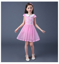 Top Quality Baby Girl Party Dress Bambini Abiti Disegni, Party Dress Set Con Fascia E Scarpe Per Bambine