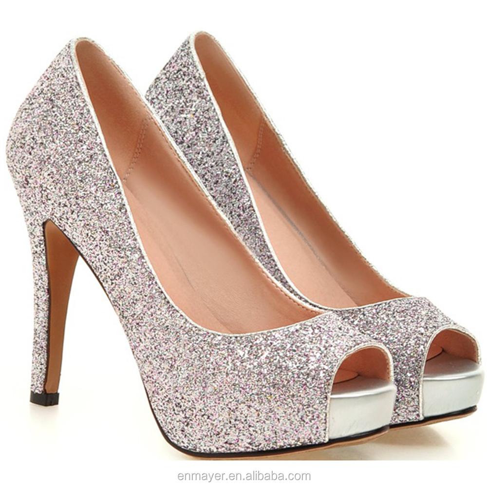 Nueva Zapatos Mujeres De Las Vestido Brillante Primavera Tacón IgRxFw