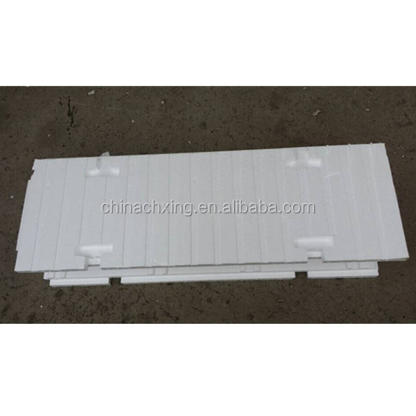 Advanced waterproof polystyrene blocks construction for Foam block foundation prices