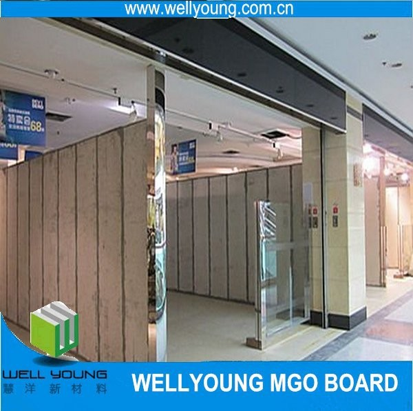 wall cladding fireproofing mgo boards for wall lining