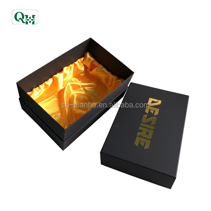 custom hard gift paper box package for hat