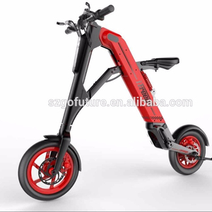 Adults Travel Mate 12inch Suspension Seat Folding Electric Motorcycle