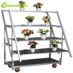 Danish plant trolley metal flower carts for sale