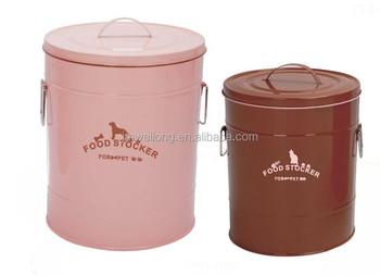Eco-friendly Zinc Metal Antirust Ecomonic Pet Food Storage Bin/Tin Outdoor Garbage bin  sc 1 st  Alibaba & Eco-friendly Zinc Metal Antirust Ecomonic Pet Food Storage Bin/tin ...