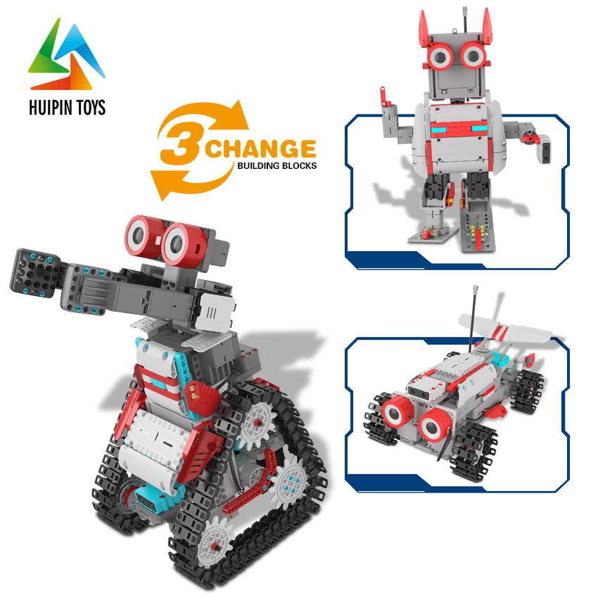 diy blocks APP intelligent programming blocks MZ 68002 toy robot building kit