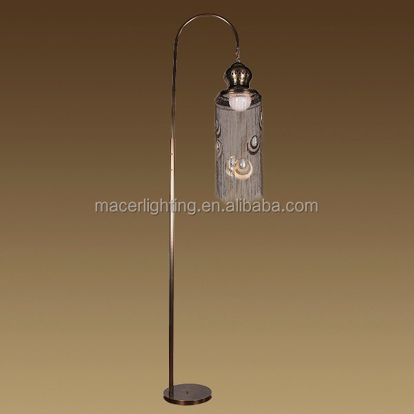 Moroccan Antique Copper Brass Floor Light Lamps