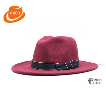 hot selling different types New Fashion designer Wool Women s Fedora Hat  Autumn Winter Panama jazz 9f7ffd72b1a