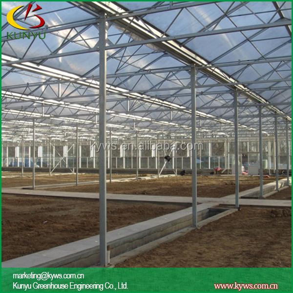 Venlo Roof Greenhouse Design Plans Greenhouse Glazing