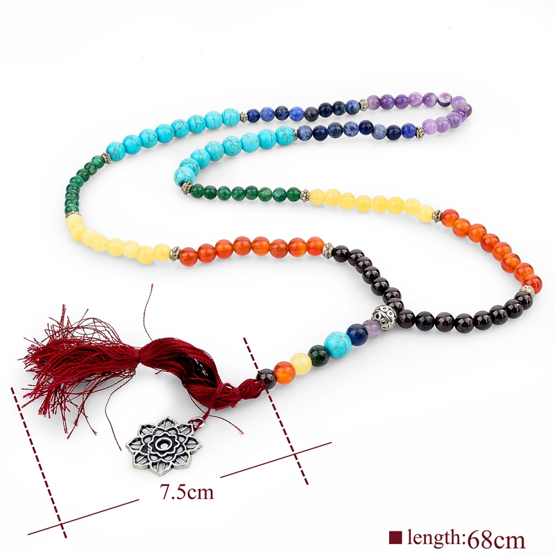 collier perle yoga