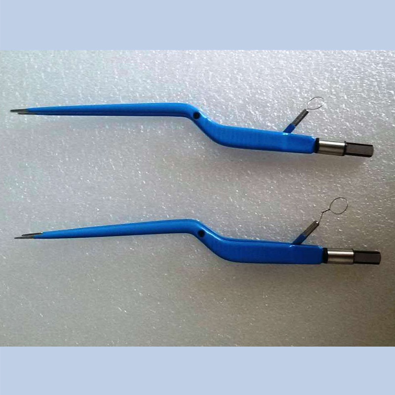 Silicone Bioplar Cable for Electrosurgery Plug Insulated for Surgical Tools Bipolar Forceps and Electrodes