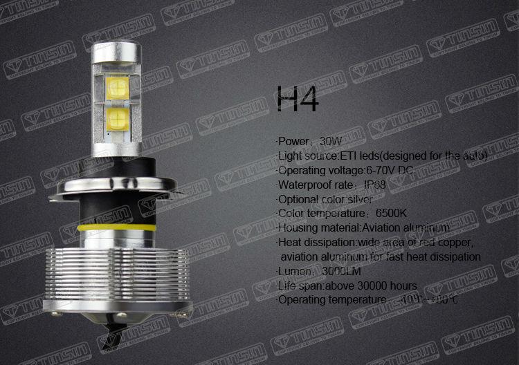 Car H4 Led Headlight Bulbs/24v Led Bulb Lights/radster Sports ...
