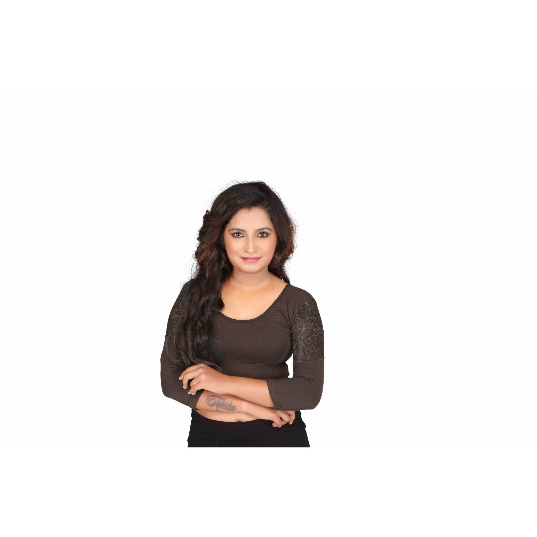 0328da322a264d Fressia Fabrics Readymade free Size saree blouse for women party wear choli
