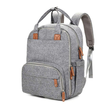 Multi-function Outdoor Unisex Stylish Polyester 기저귀 Bag Backpack Baby 변경 Bags 와 병 Warmer