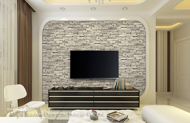 Incroyable 53CM Nature Sense Pvc Decorative Waterproof Wallpaper 3d Wall Price Living  Room For Home