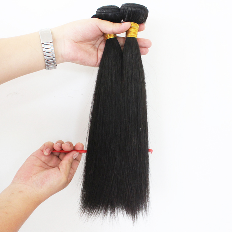 Wholesale double strong weft full cuticle grade 9A brazilian human hair extension