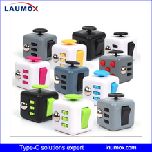 2017 wholesale fidget cube Relieves Stress fidget toys for child and adults